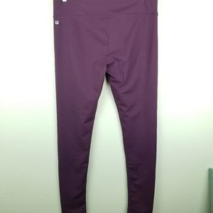Fabletics XL leggings skinny purple high rise